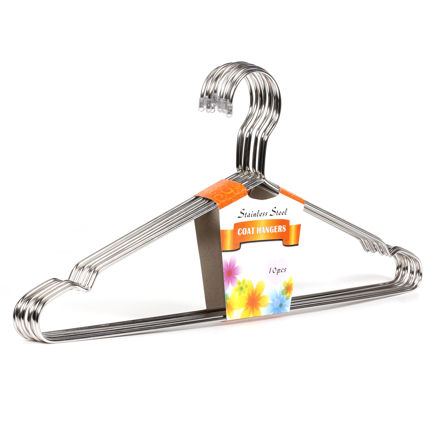 Stainless Steel Heavy Duty Strong Metal Wire Hangers Clothes Hangers